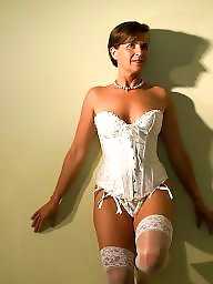 Mature lingerie, Stocking, Stocking mature