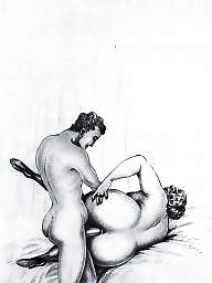 Mature ass, Art, Vintage mature, Mature porn, Vintage porn