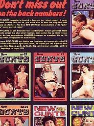 Vintage, Group, Cunt, Magazine, Cunts, Vintage hairy