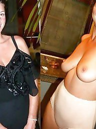 Dressed undressed, Dressed, Dress, Undress, Undressed, Milf amateur