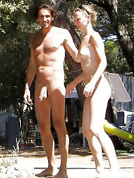 Beach, Naturist, Couples, Couple, Couple amateur, Amateur couple