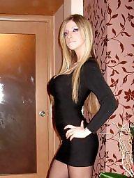 Teen nylon, Nylon teen, Teen stockings