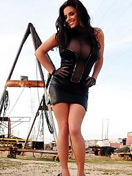 Latex, Leather, Upskirt milf, Milfs, Milf upskirt, Milf upskirts
