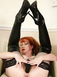 Mature redhead, Old mature