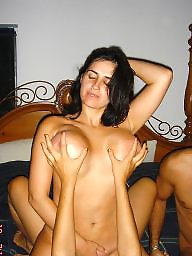 Mexican, Big tits, Swinger, Swingers