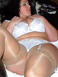 Mature bbw, Bbw mature, Aunt, Bbw stockings, A bra, Bbw stocking
