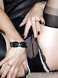 Nylon, Milf stockings, Black milf