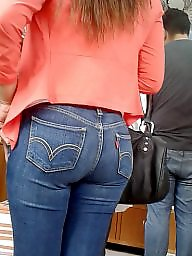 Jeans, Latin ass, Cam, Ass latin