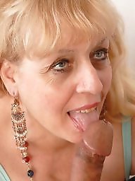 Milk, Sucking, Facials, Mature facial