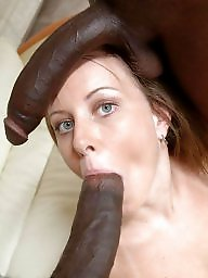 Bbc, Blow, Interracial blowjob, Massive