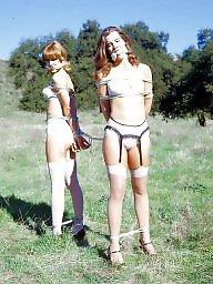 Upskirts, White panties, White