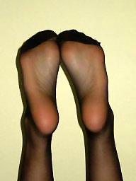 Nylon feet, Stocking feet, Feet nylon, Amateur nylon