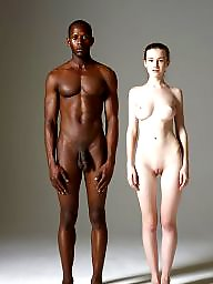 White, Ebony interracial, White and black