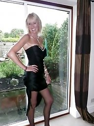 Sexy milf, Stocking milf, Amateur stockings