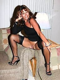 Stockings, Sexy stockings, Mature women