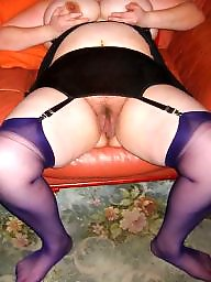 Spread, Spreading, Bbw spreading, Hairy bbw, Bbw stockings, Bbw spread