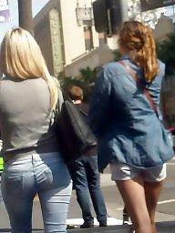 Ass, Jeans, Teen ass, Hidden cam, Butts, Butt