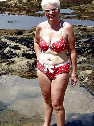 Granny, Granny beach, Grannies, Mature beach, Matures, Beach mature
