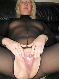 Housewife, German, Open pussy, Wide, Open, Wide open