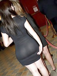 Mature ass, Dress, Mature big ass, Mature butt, Candid, Big ass