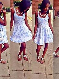 Dress, Dressed, Teen dress, Ebony teen, Black teen