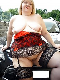 Bbw stockings, Mature stockings