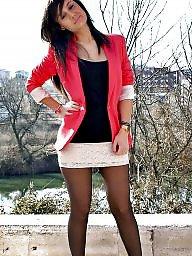 Nylon, Street, Nylon upskirt, Nylons, Amateur nylon, Upskirt stockings