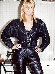 Boots, Leather, Latex, Pvc, Mature boots, Mature leather