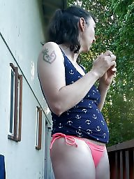 Bikini, Wife, Brunette amateur, Amateur bikini