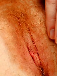 Fingering, Finger, Redheads, Hairy redhead