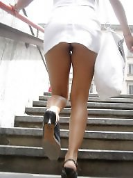 Skirt, Candid, Skirts, Shorts, Short