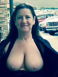 Mature, Big granny, Granny boobs, Granny flashing, Mature flashing, Granny big boobs