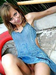 Teen panties, No panties, Pantie