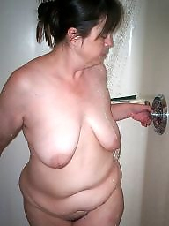 Shower, Slut wife, Sluts, Wifes ass, In the shower