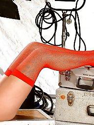 Fingering, Stocking, Stockings, Blonde