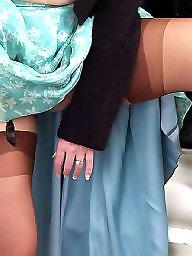 Rock, Upskirt stockings