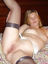 Nylon, Nylon mature, Mature nylon, Mature in stockings