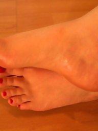 Milfs, Stocking feet, Wifes, Sexy wife, Amateur feet, Feet cum