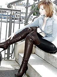 Boots, Leather, Latex