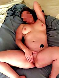 Big boobs, Mrs, Cum on boobs