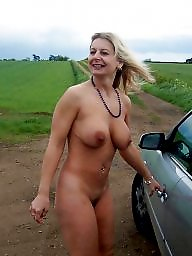 Outdoor, Mature outdoor, Outdoor mature, Outdoors, Blonde mature, Mature panties