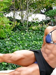 Milf, Bodybuilder, Female