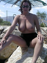 Holiday, Scottish, Scottish milf, Boobs amateur