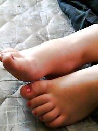 Milf feet, Big feet