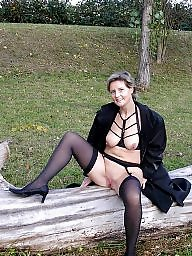 Swinger, Swingers, Mature stocking, Mature mix, Stocking fucking, Mature swinger