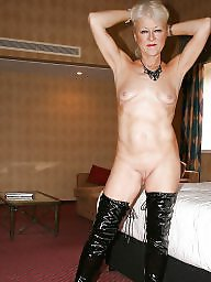 Mom, Pvc, Leather, Latex, Mature, Lady