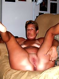 Posing, Naked, Hubby