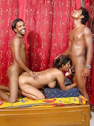 Indian, Threesome, Couple, Couples, Asian sex
