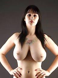 Piercing, Pierced, Big nipples, Pierced nipples, Nipple piercing