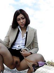 Cute, Japanese wife